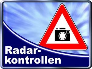 Städtische Radarkontrollen