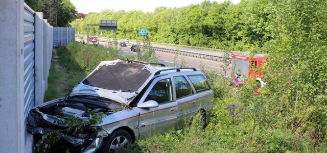 Verkehrsunfall auf der Autobahn 46