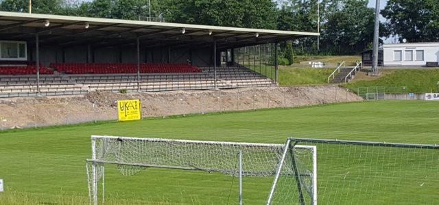Sanierung der Tribüne im Hemberg-Stadion (Nord) verzögert sich