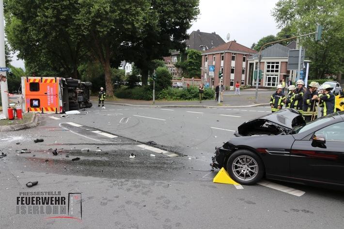 © by Feuerwehr Iserlohn / Presse