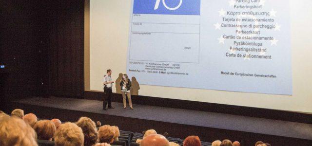 """Ordnungspartnerschaft Polizei und Ordnungsamt: Behindertenparkplätze waren Thema bei Info-Veranstaltung mit """"Lotti und Kurt"""""""