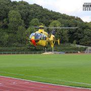Rettungshubschraubereinsatz nach Sportunfall
