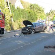 Verkehrsunfall auf der B 7. Interkommunale Zusammenarbeit der Rettungskräfte