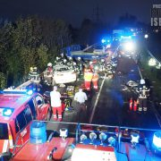 Frontalzusammenstoß: Drei Schwerverletzte