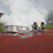 Brandeinsatz am Hemberg