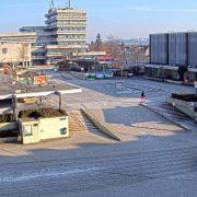 """Projekt """"Umgestaltung des Schillerplatz-Areals"""": Zwei Webcams installiert"""