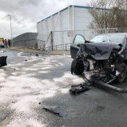 Verkehrsunfall – drei Person verletzt ins Krankenhaus
