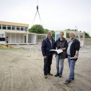 Errichtung von Klassenräumen in Modulbauweise am Schulzentrum Hemberg