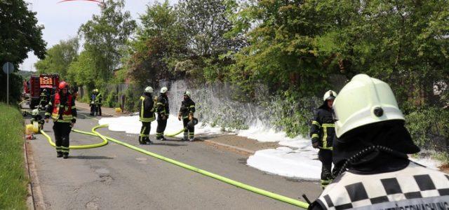 Feuer an der Giesestraße