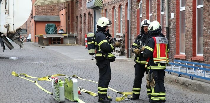 Gasaustritt an der Gürtlerstraße