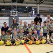 """Die Jüngsten der Jüngsten: U 6 Basketballteam der Kangaroos wurde """"geboren""""!"""