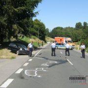 Schwerer Verkehrsunfall – Sieben Verletzte