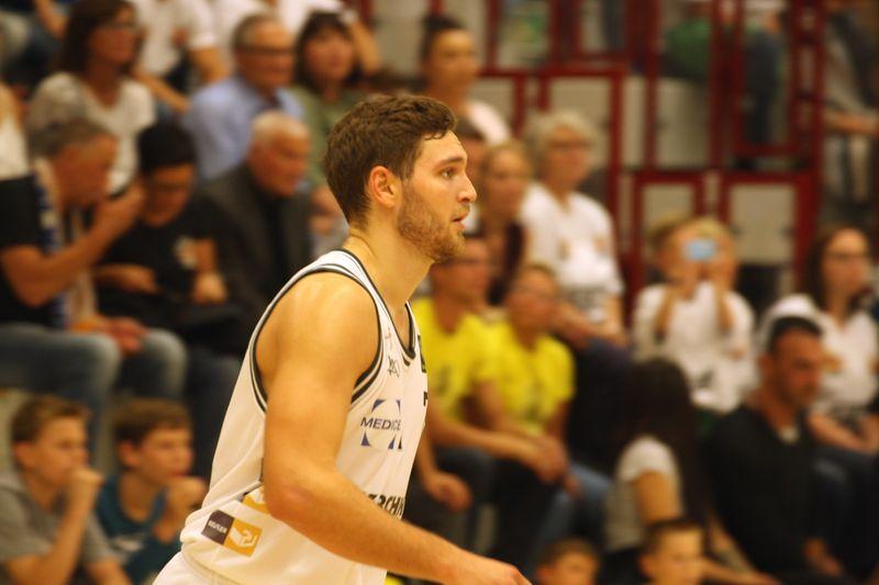 Basketball Testsoiel Iserlohn Kangaroos - Phoenix Hagen, Joshua Dahmen - © by Sportstimme.de (MK)