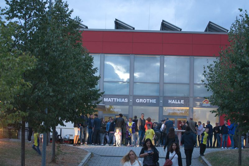 Basketball Testsoiel Iserlohn Kangaroos - Phoenix Hagen Matthias-Grothe-Halle - © by Sportstimme.de (MK)