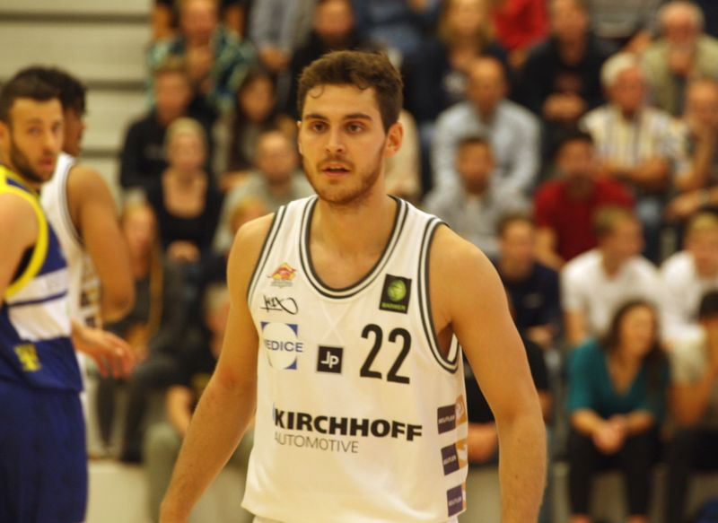 Basketball Testsoiel Iserlohn Kangaroos - Phoenix Hagen /Ruben Dahmen - © by Sportstimme.de (MK)