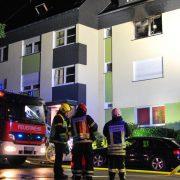 Küche brannte in voller Ausdehnung – eine Person verletzt