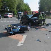 Unfall in Valbert: Kradfahrer lebensgefährlich verletzt