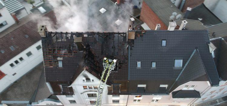 Großbrand in der Innenstadt