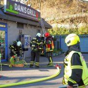 Absauganlage in Brand geraten