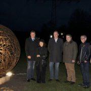 """""""Runde Sache"""" – Neue Skulptur in der Historischen Fabrikanlage Maste-Barendorf"""