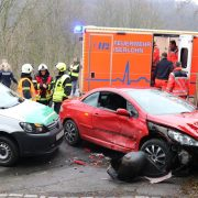 Schwerer Verkehrsunfall auf der B 7