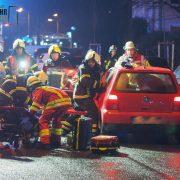 Schwer verletzt nach Verkehrsunfall