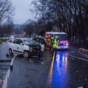 Verkehrsunfall auf der Schlesische Straße