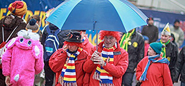 Karneval: Schirm nicht vergessen!  Ab Weiberfastnacht wird es wechselhafter