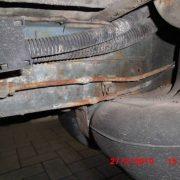 Bremsleitungen durchgerostet und wieder zusammengelötet