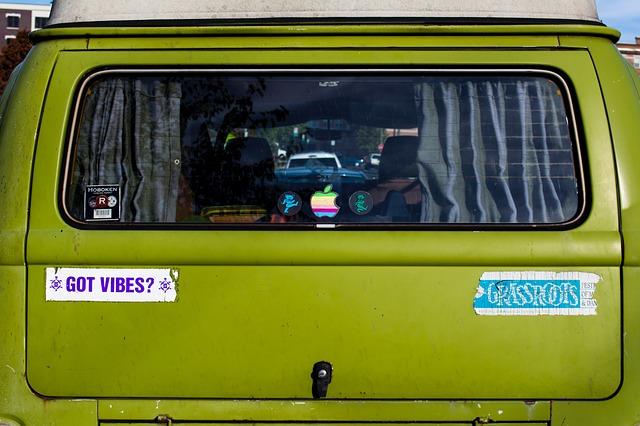Ein Optisches Statement Auf Dem Auto Autoaufkleber